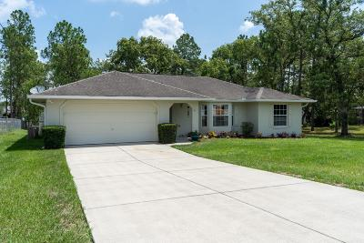 Ocala Single Family Home For Sale: 41 Pecan Run Drive