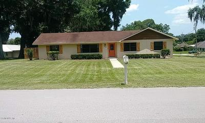 Ocala Single Family Home For Sale: 4777 SE 36th Avenue