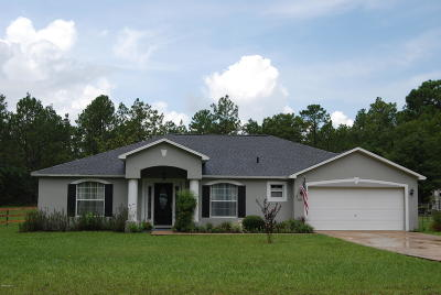 Ocala Single Family Home For Sale: 4690 SW 121st Terrace