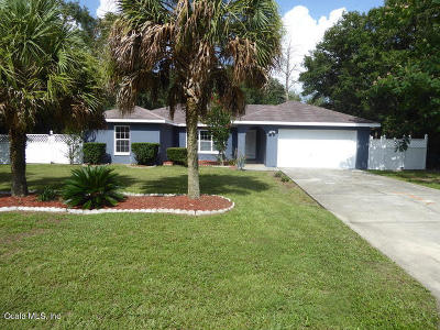 Ocala Single Family Home For Sale: 14345 SW 44th Court