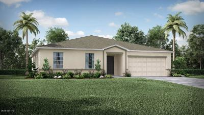 Ocala Single Family Home For Sale: SW 127th Lane
