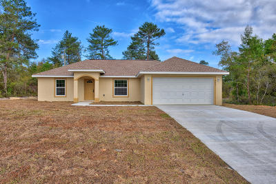Ocala Single Family Home For Sale: 15144 SW 52nd Circle