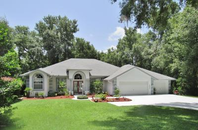 Dunnellon Single Family Home For Sale: 18972 SW 93rd Loop