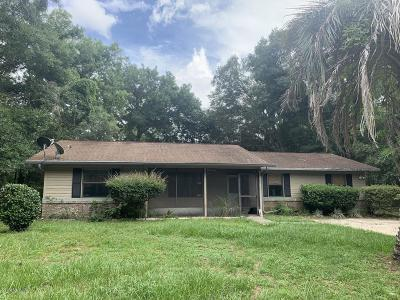 Ocala Single Family Home For Sale: 64 Dogwood Loop