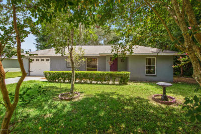 Ocala Single Family Home For Sale: 16 Juniper Trail Run