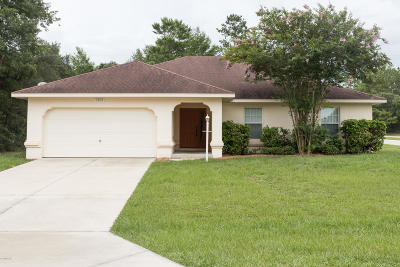 Ocala Single Family Home For Sale: 5901 SW 128th Street Road
