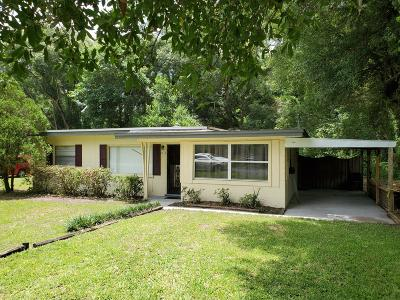 Ocala Single Family Home For Sale: 1116 NE 32 Pl.