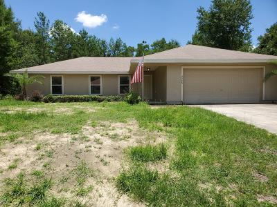 Ocala Single Family Home For Sale: 2240 SW 169 Pl.
