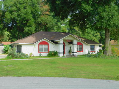 Ocala Single Family Home For Sale: 10668 SW 74th. Terrace