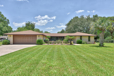 Ocala Single Family Home For Sale: 10281 SW 67th Court