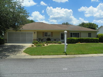 Dunnellon Single Family Home For Sale: 11548 SW 140 Loop