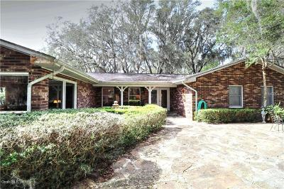 Lady Lake Single Family Home For Sale: 40831 Gator Lake Road
