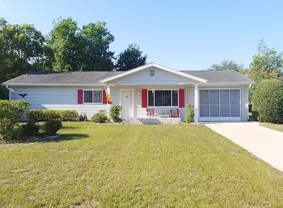 Ocala Single Family Home For Sale: 6346 SW 110th Street