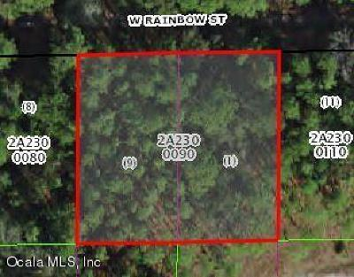 Citrus County Residential Lots & Land For Sale: 7180 W Rainbow Street