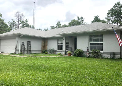 Ocala Single Family Home For Sale: 4125 SW 157th Terrace