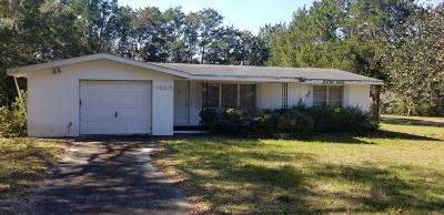 Dunnellon Single Family Home For Sale: 8420 SW 200th Court