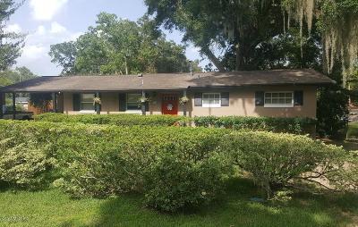 Ocala Single Family Home For Sale: 715 SE 32nd Avenue