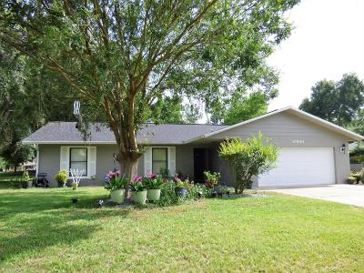 Ocala Single Family Home For Sale: 10500 SW 74th Court