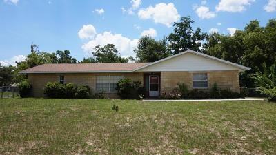 Ocala Single Family Home For Sale: 583 Bahia Circle
