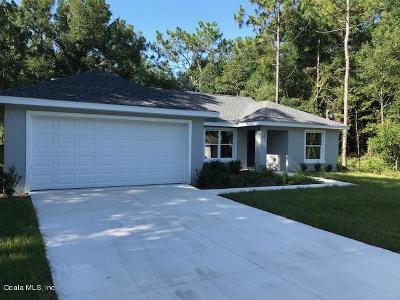 Ocala Single Family Home For Sale: 58 Dogwood Loop