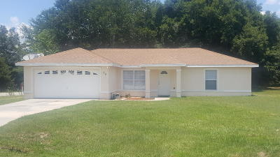 Ocala Single Family Home For Sale: 39 Juniper Pass Track