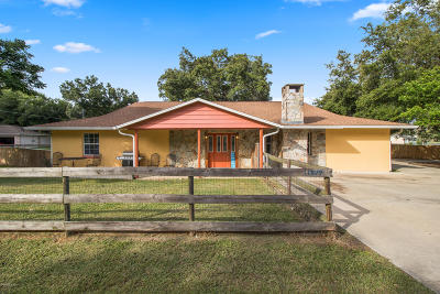 Belleview Single Family Home For Sale: 11577 SE 72nd Terrace Road