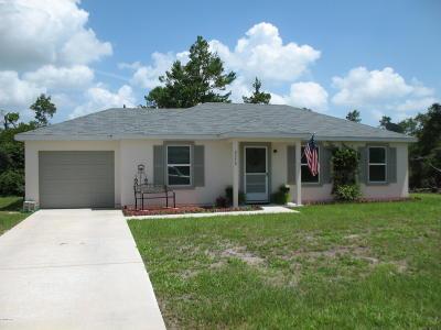 Ocala Single Family Home For Sale: 2772 SW 161st Lane