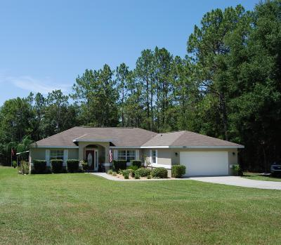Dunnellon Single Family Home For Sale: 19986 SW 54th Street