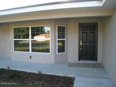Ocala Single Family Home For Sale: 52 Teak Loop