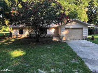 Marion County Single Family Home For Sale: 6260 NW 60th Court