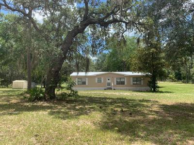 Dunnellon Mobile/Manufactured For Sale: 4445 SW 175th Court