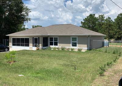 Ocala Single Family Home For Sale: 47 Pine Circle