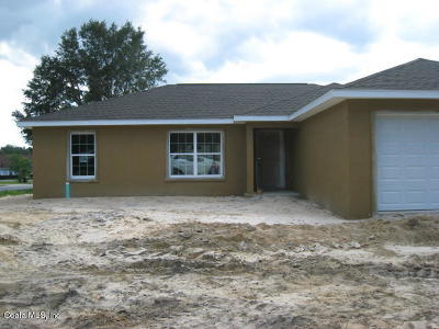 Ocala Single Family Home For Sale: 60 Almond Pass Drive
