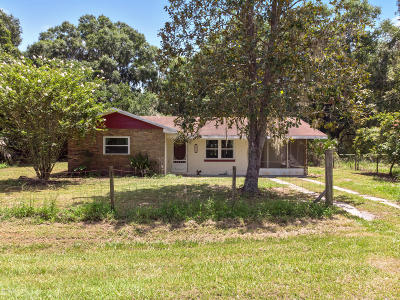 Micanopy Single Family Home For Sale: 4459 NW 216th Lane
