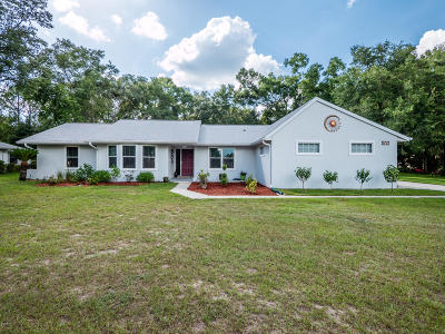 Dunnellon Single Family Home For Sale: 19757 SW 88th Place Road