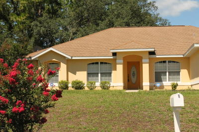 Ocala Single Family Home For Sale: 6282 SW 144th Pl