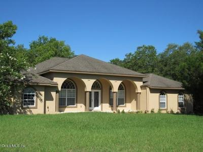 Ocala Single Family Home For Sale: 6530 SW 147th St Road