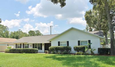 Ocala Single Family Home For Sale: 3820 SE 4th Street