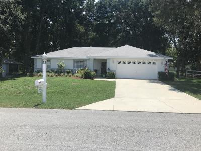 Marion County Single Family Home For Sale: 6072 SW 103rd Loop