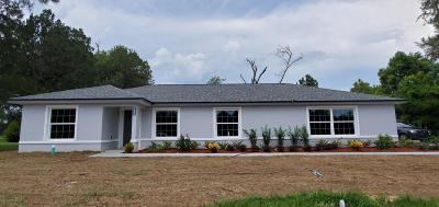 Ocala Single Family Home For Sale: 3424 NE 14th Street