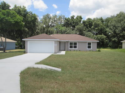 Ocala Single Family Home For Sale: 83 Pine Trace