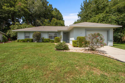 Ocala Single Family Home For Sale: 47 Pecan Course Loop