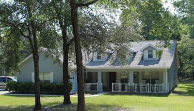 Dunnellon Single Family Home Pending: 7350 W Lemonade Lane
