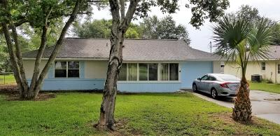 Belleview Single Family Home Pending: 11806 SE 72nd Terrace Road