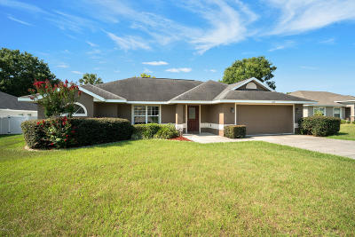 Ocala Single Family Home For Sale: 1187 SE 65th Circle