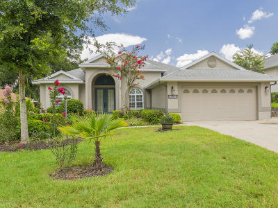Dunnellon Single Family Home For Sale: 19501 SW 84th Pl Place