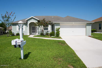 Ocala Palms Single Family Home For Sale: 1932 NW 56th Terrace