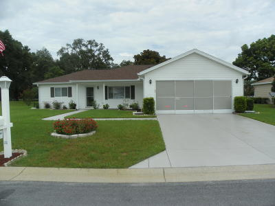 Dunnellon Single Family Home Pending: 11848 SW 137 Loop