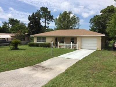 Ocala Single Family Home For Sale: 475 Water Road