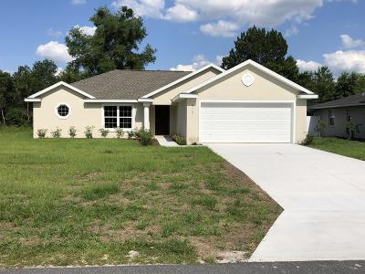 Marion Oaks North, Marion Oaks Rnc, Marion Oaks South Single Family Home For Sale: 16805 SW 39 Circle